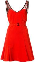 Zac Posen x Betty Boop Betty flared mini dress - women - Spandex/Elastane/polyester - 0