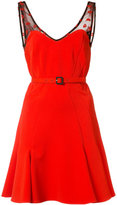 Zac Posen x Betty Boop Betty flared mini dress