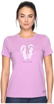 Life is Good Livin' on a Pair Flip Flops Crusher Tee