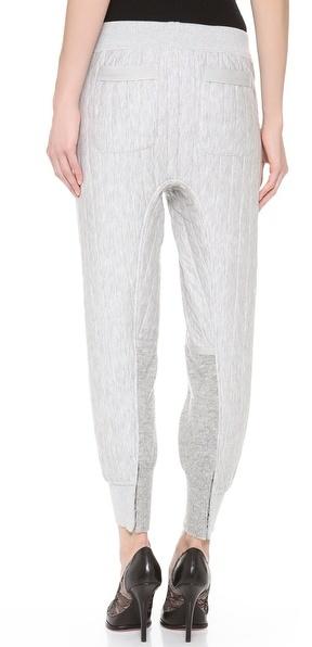 Nina Ricci Jersey Seamed Jogging Pants