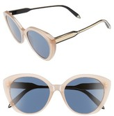 Victoria Beckham Women's 55Mm Sunglasses - Milky Taupe