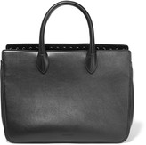 Jil Sander Small studded leather tote