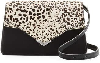 Sam Edelman Briar Leopard-Print Wristlet