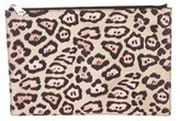 Givenchy Leopard Zip Pouch