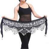 ZYZF Belly Dancing Dance Waist Chain Hip Triangle Scarf Skirt Belt