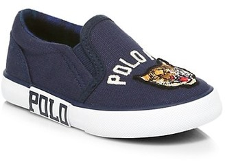 Ralph Lauren Baby's & Little Boy's Bal Harbour II Slip-On Sneakers