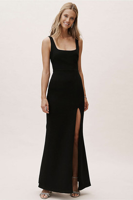 BHLDN Adena Dress By in Black Size 22