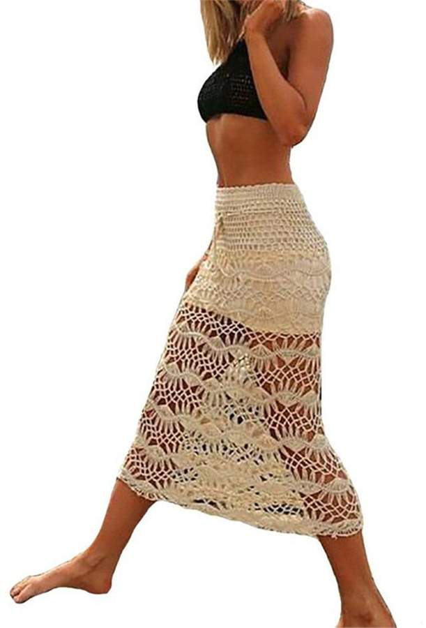 Crochet And Lace Cover Up Shopstyle Canada