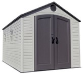 Lifetime Outdoor Storage Shed 8' x 12.5' - Gray And White