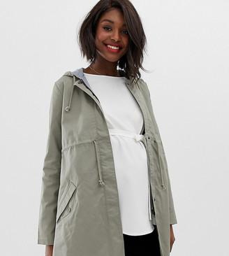 Mama Licious Mamalicious maternity parka jacket
