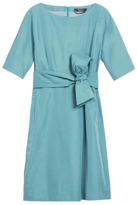 Max Mara Cotton-Twill Mini Dress