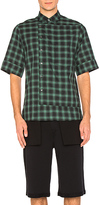 Public School Arment Shirt in Green. - size M (also in )
