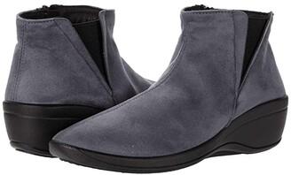 ARCOPEDICO Luana (Black Faux Suede) Women's Shoes