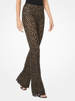 Michael Kors Corded Lace Flared Pants