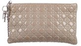 Christian Dior Patent Cannage Wristlet