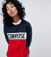 Converse Colorblock Sweatshirt With Chest Branding