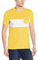 U.S. Polo Assn. Men's Wide Chest Stripe Pocket Crew-Neck T-Shirt