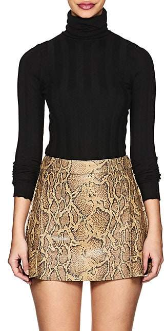 Derek Lam Women's Cashmere-Blend Turtleneck Sweater - Black