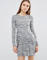 AX Paris Knitted Long Sleeve Skater Dress