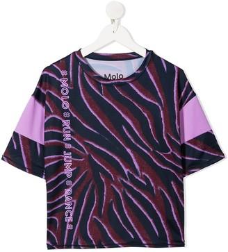 Molo Odessa animal pattern T-shirt