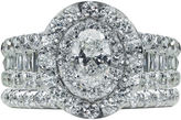 FINE JEWELRY Modern Bride Signature Womens 2 1/2 CT. T.W. Genuine White Diamond 14K Gold Bridal Set