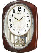 Seiko CLOCK clock ) wall clock wave Symphony radio clock twin -Pas AM239H