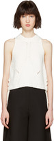 3.1 Phillip Lim White Pointelle Top