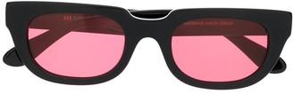 Han Kjobenhavn Rectangular-Frame Tinted Sunglasses