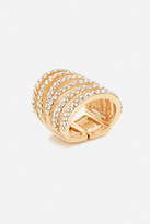 Fashion to Figure Rhinestone Multi-Row Ring