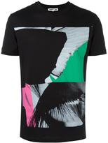 McQ by Alexander McQueen wing collage T-shirt