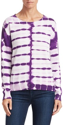 Roi Tie-Dye Cotton-Cashmere Sweater