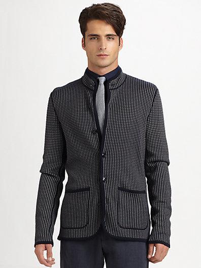 Armani Collezioni Beckham Knit Jacket