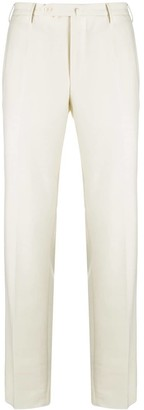 Incotex Straight Leg Wool Trousers
