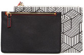 Sondra Roberts Faux Leather Pouch in Pouch