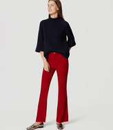 LOFT Kick Crop Corduroy Pants