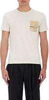 Visvim Men's Contrast Pocket Heathered Jersey T-Shirt
