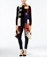 Rampage Tres Luxe Colorblock Vest, Only at Macy's