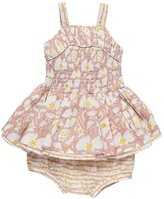 Stella McCartney Baby Girl's Ruched Floral Dress