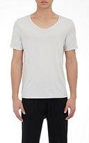 Raquel Allegra Men's Scoopneck T-Shirt-WHITE