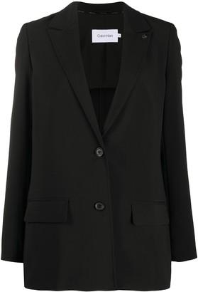 Calvin Klein Single Breasted Blazer