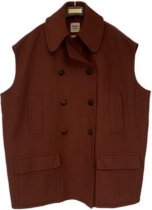 Hermes Camel Cashmere Coats