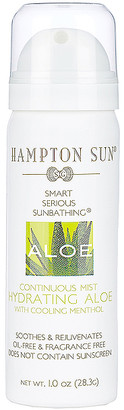 Hampton Sun Travel Hydrating Aloe Continuous Mist