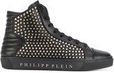 Philipp Plein studded hi-top sneakers