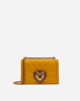 Dolce & Gabbana Medium Matelasse Nappa Leather Devotion Bag