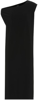 Norma Kamali Drop Shoulder jersey dress