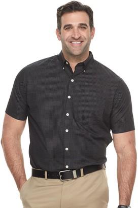 Van Heusen Big & Tall Classic-Fit Wrinkle-Free Button-Down Shirt