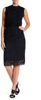 Nanette Lepore Limoncello Crochet Skirt