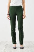 J. Jill Ponte Knit Slim-Leg Pants