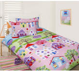 Lovely House Glow in the Dark Quilt Cover Set