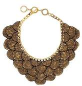 Forest of Chintz Gilted Leaf Necklace